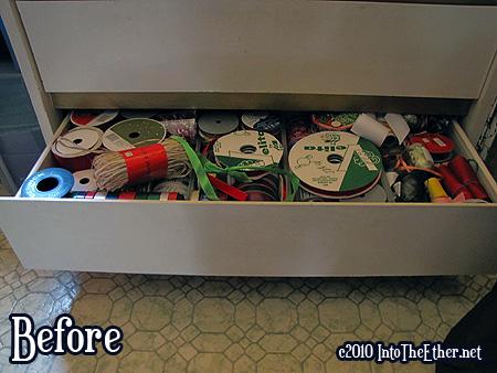 1. Organize Ribbon. Check!