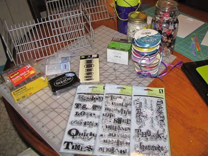 Scrapbooking Haul – More Spoils of the day!