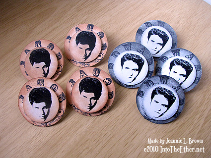 Twilight Saga Paper Pins