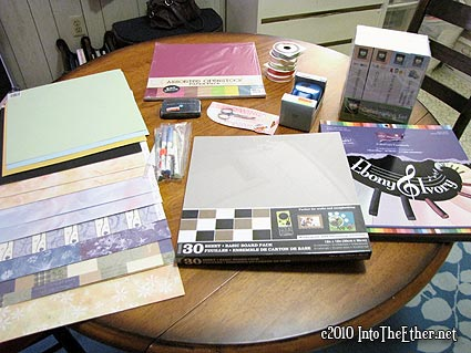 Summer Vacation Scrapbooking Haul (Let the self-spoiling continue!)