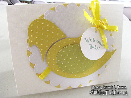 Baby Bird Shower Card