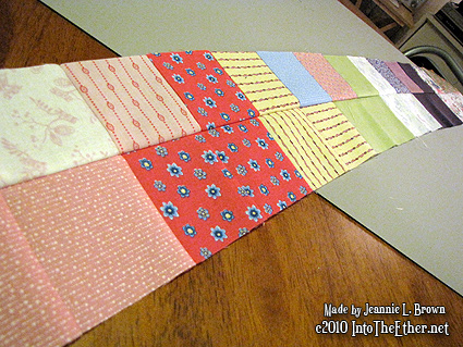 Quilt 1 – 2011: Antoinette's Labyrinth – The Beginning!