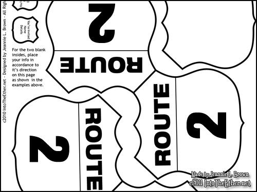 Road Sign Birthday Invitations Request