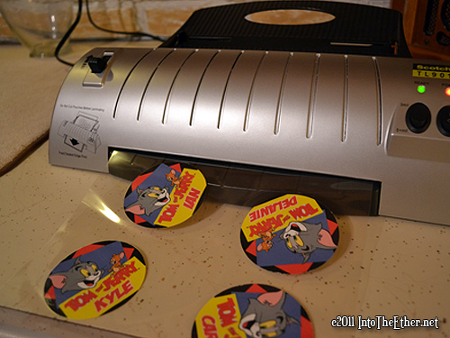 Tom and Jerry Birthday Party Theme Into The Ethernet