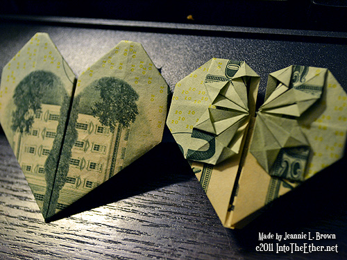 Money Origami Ideas For Gifts