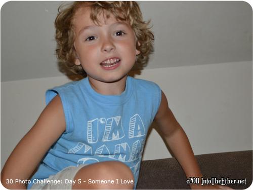 30 Day Photo Challenge: Day 5 – Someone I love