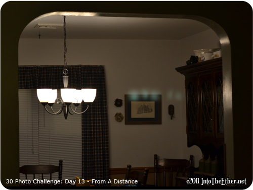 30 Day Photo Challenge: Day 13-From A Distance