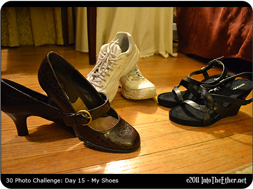 30 Day Photo Challenge: Day 15-My Shoes