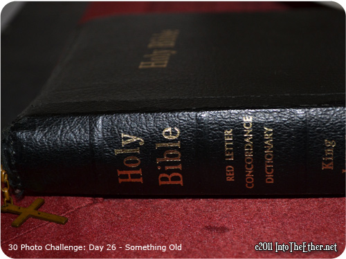 30 Day Photo Challenge: Day 26-Something Old