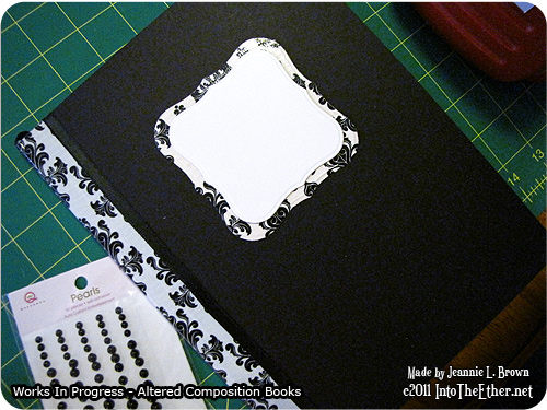 Altered Composition Books – Works In Progress